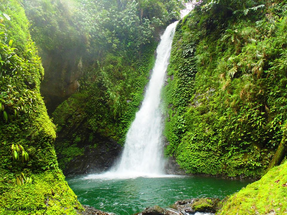 Mapesak falls of Barlig, Mountain Province.