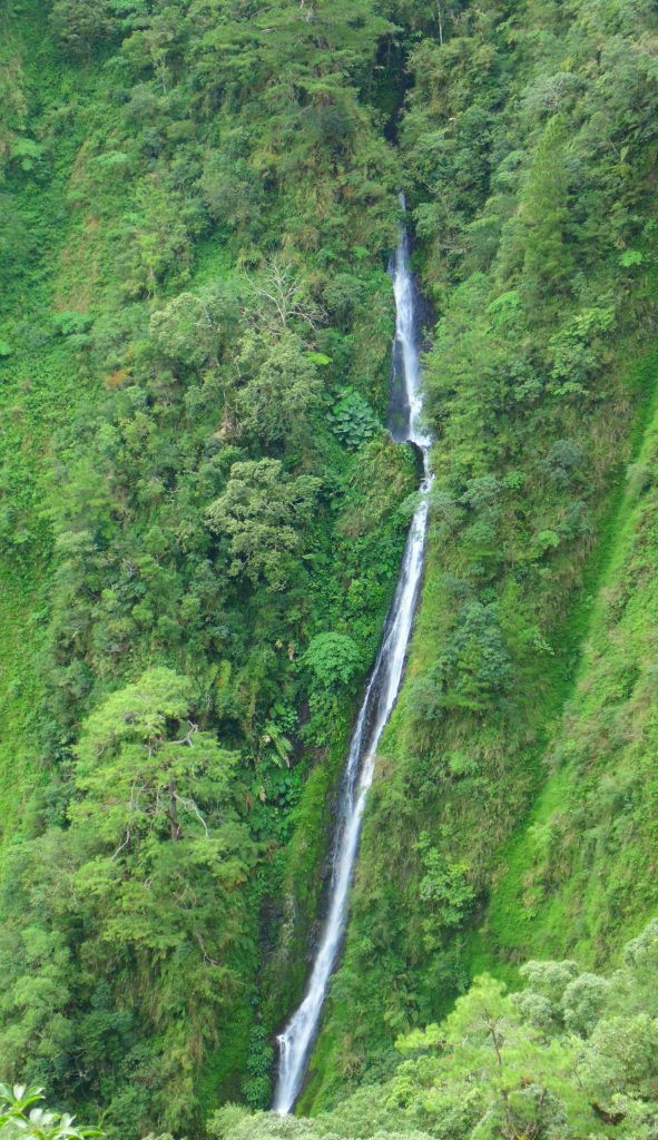 Kokop-asun Falls is one of the highest falls in the Philippines