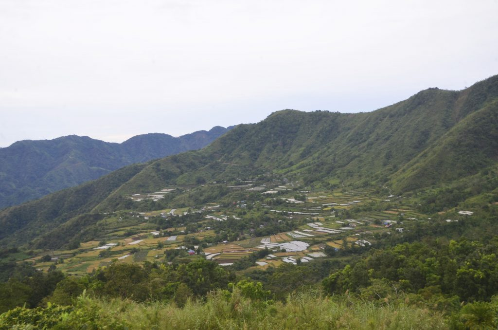 Distant view of Bagong, Sablan.