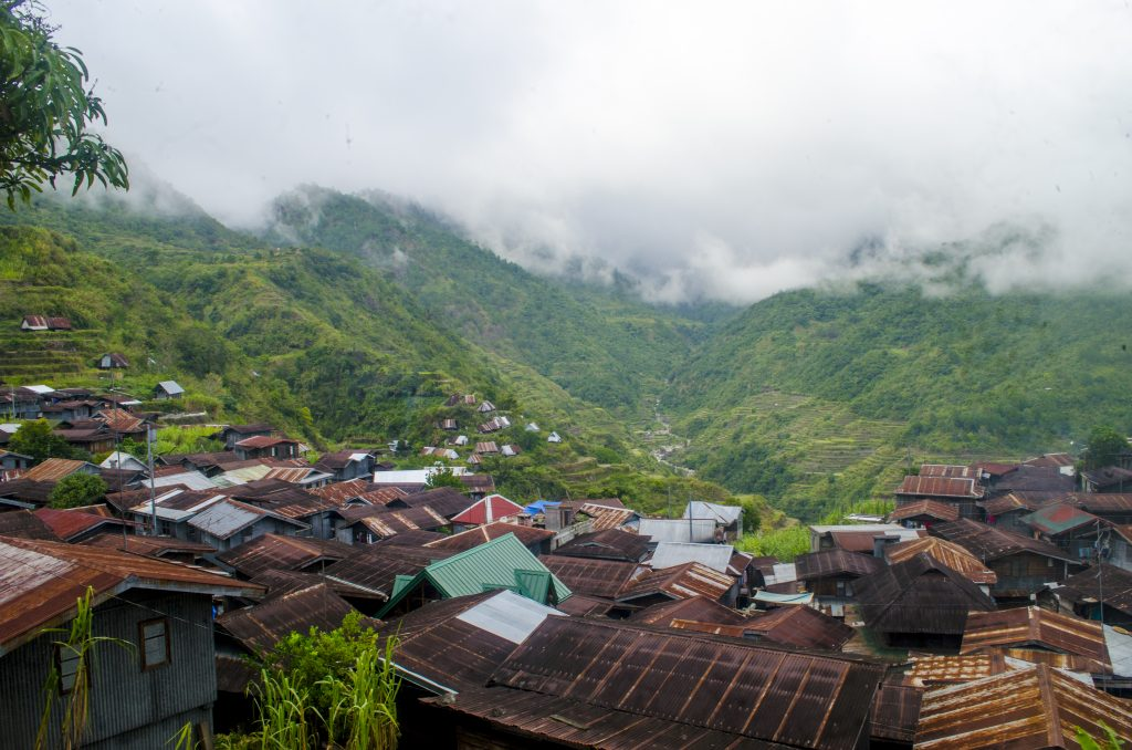 Barangay Belwang in Sadanga is the main jump-off point to Fowa-as Falls.