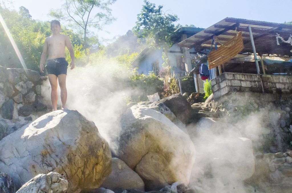 The steamy Asin Hot Spring of Tuel, Tublay.