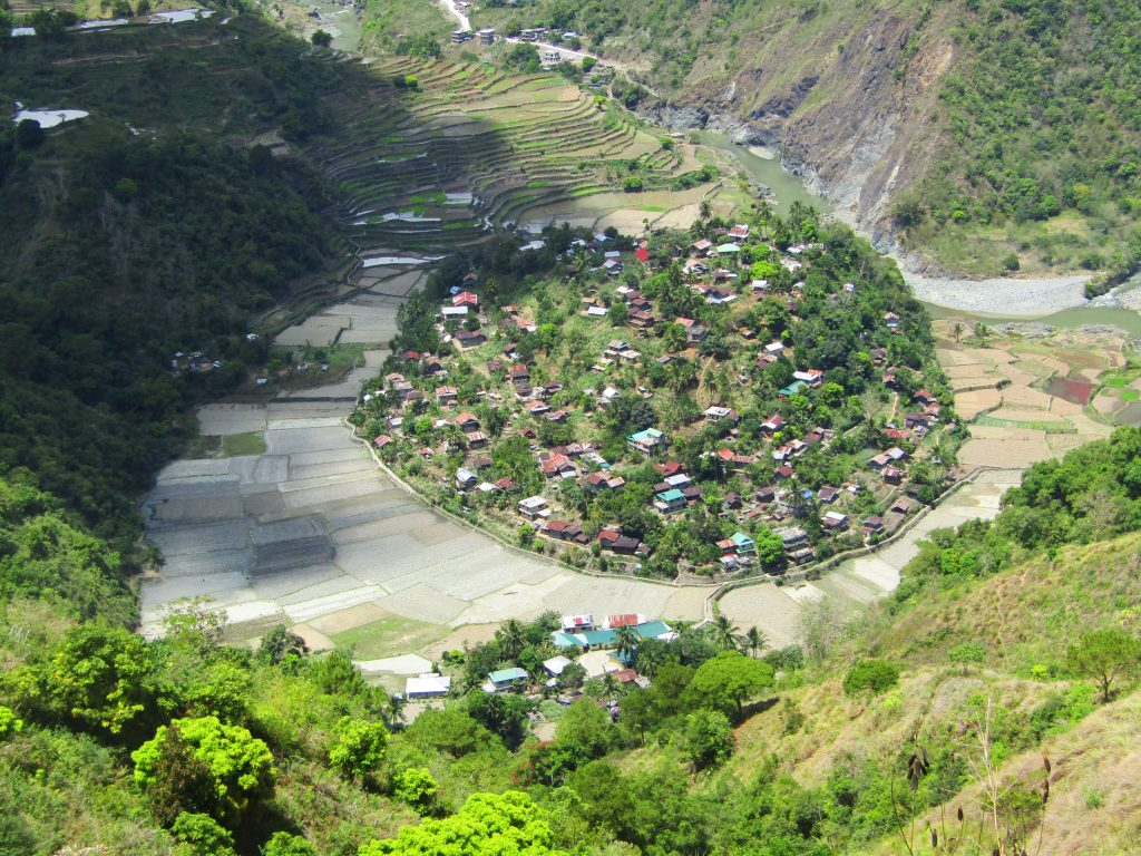 Anabel village. One of the tourist spots of Sadanga, Mountain Province.