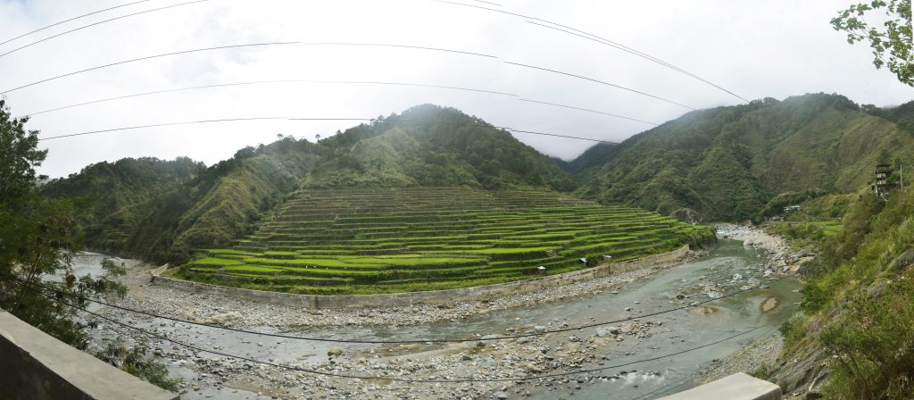 Kadchog Rice Terraces. One of the tourist spots of Bontoc, Mountain Province.