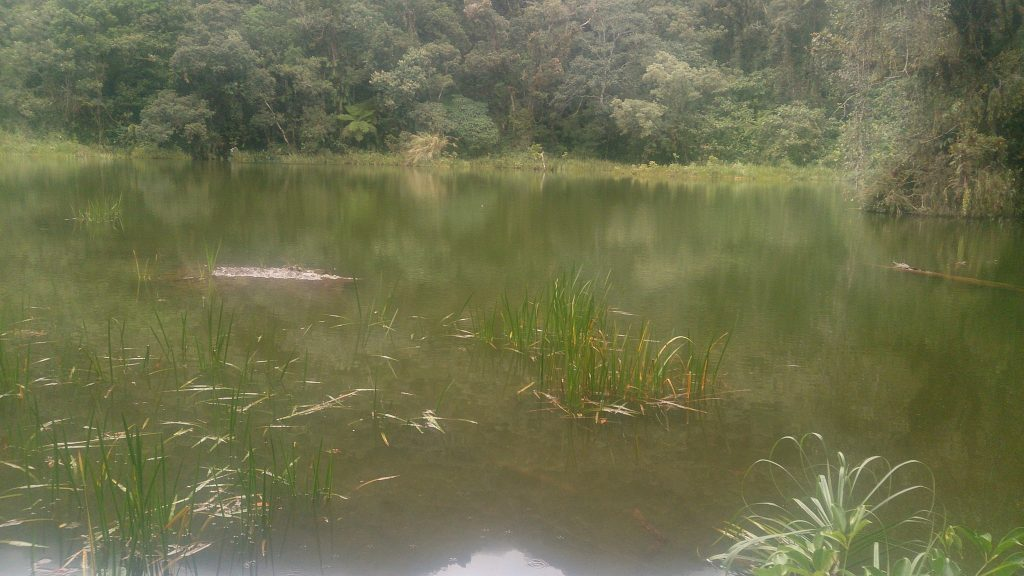Padcharao lake in Pasil, Kalinga. One of the tourist spots of Kalinga.
