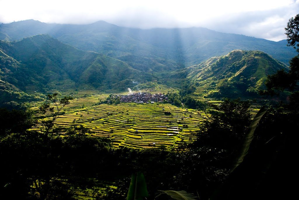 One of the communities in Tanudan, Kalinga where Sissiwit song/lyrics came to be.