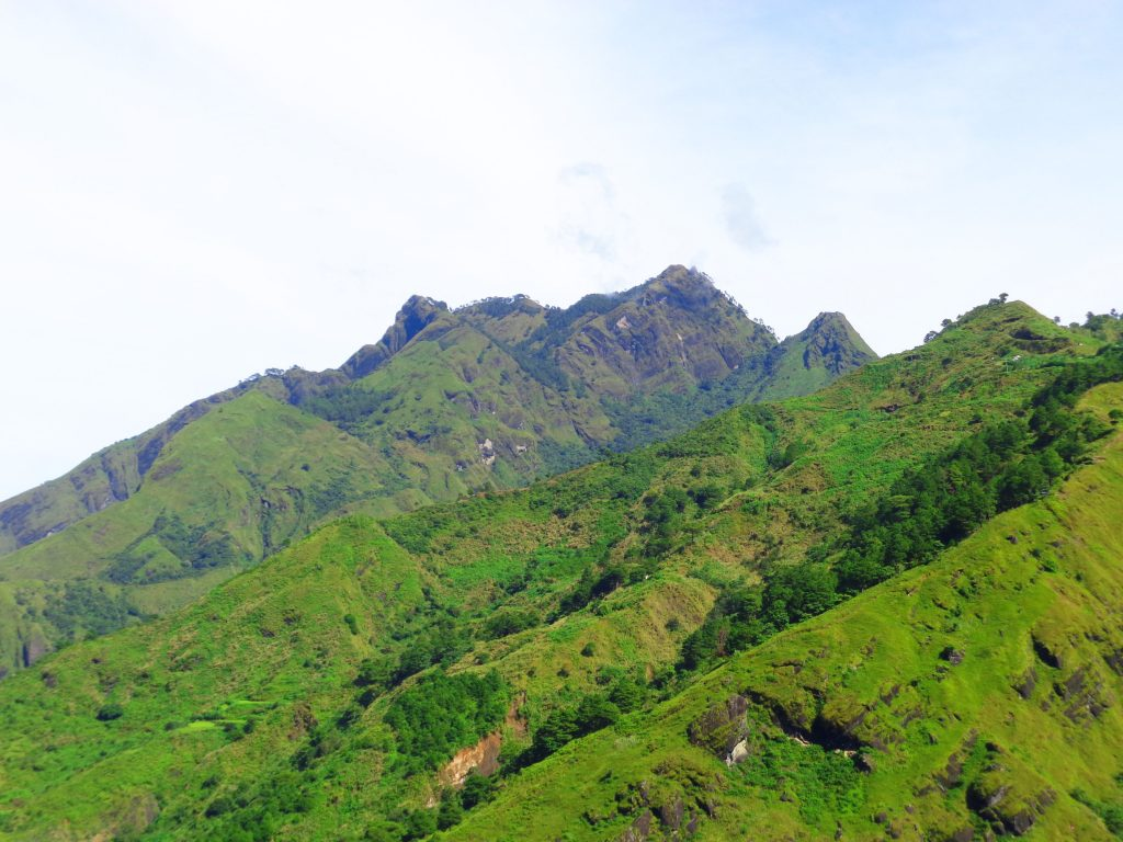Mt. Tenglawan of Bakun. One of the tourist spots of Benguet.