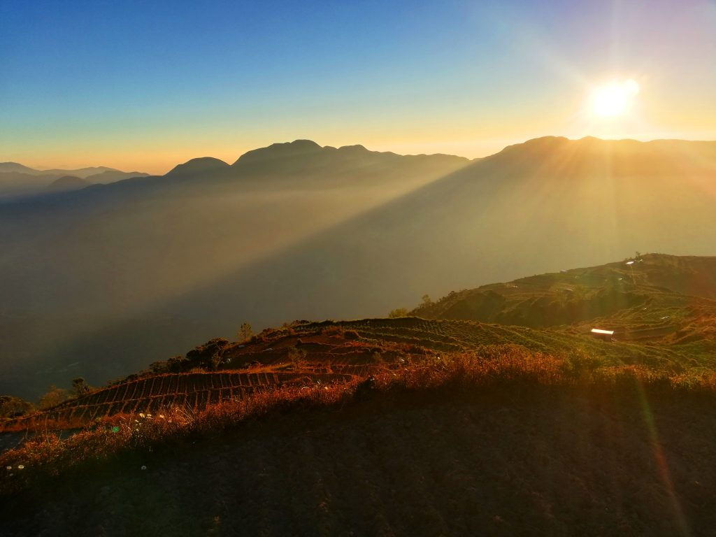 Stunning sunrise view from Mt Timbak, Atok, Benguet.