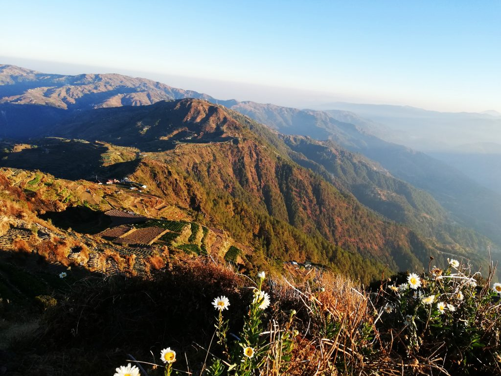 Breathtaking mountain views at Mt Timbak, Atok, Benguet.