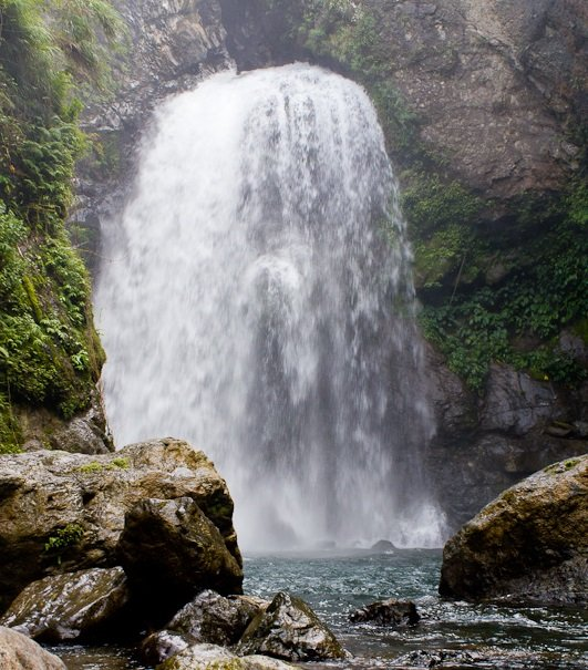 Palang-ah Falls in Tulgao, Tinglayan, Kalinga. One of the tourist spots of Kalinga.