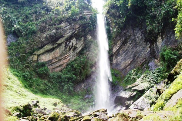 Banga-banga falls of Kalinga. One of the tourist spots of Kalinga.