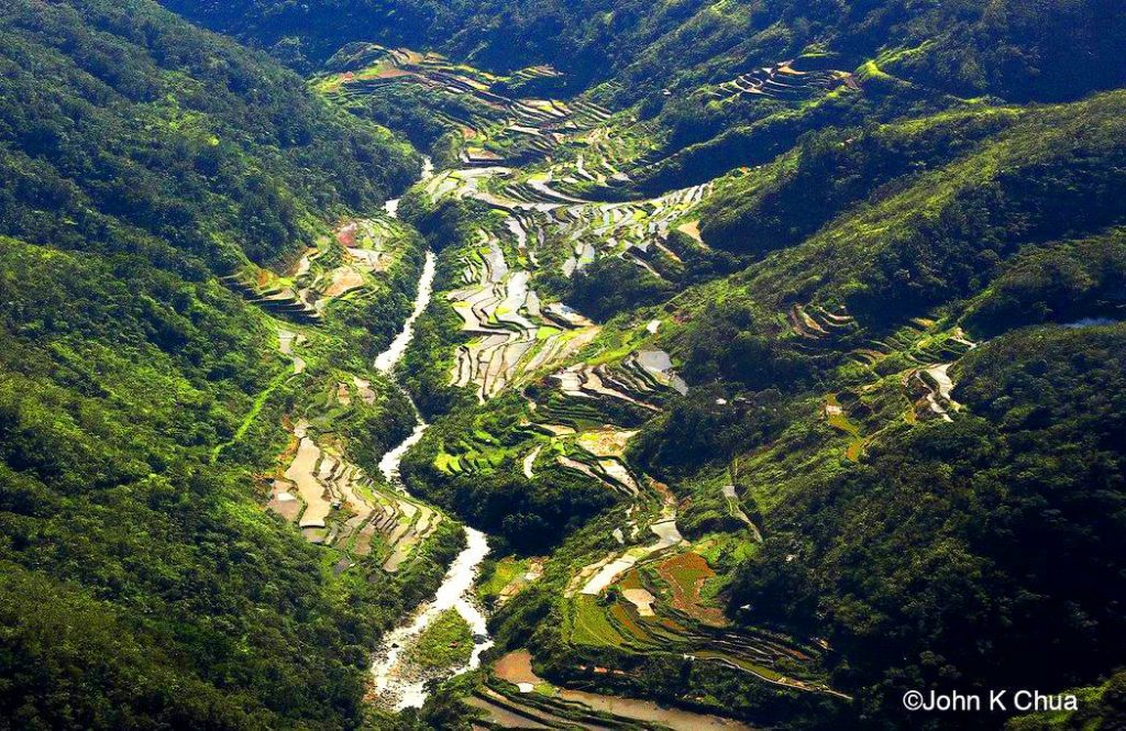 Hapao Rice Terraces is one of the tourist spots in Banaue.