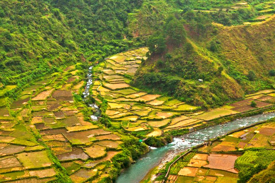 Dagiwdiw Rice Terraces. One of the tourist spots of Sabangan, Mountain Province.
