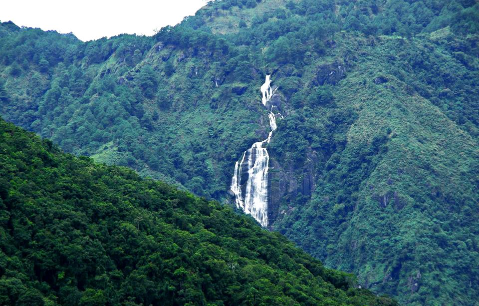 Pey-og Falls. One of the tourist spots in Kapangan, Benguet.