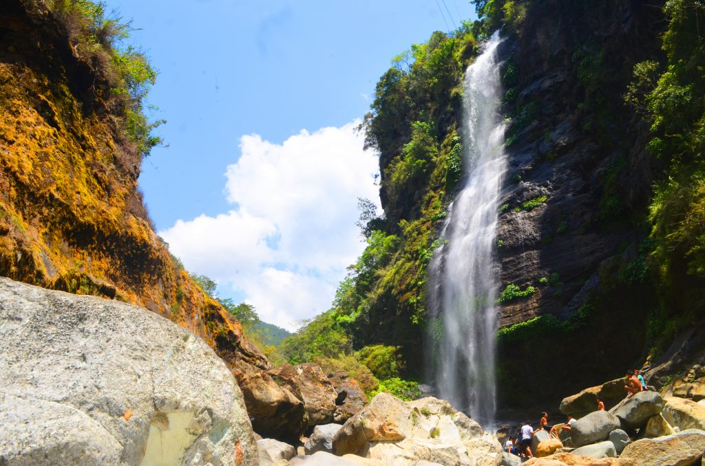Bomod-ok falls is of the Sagada falls.