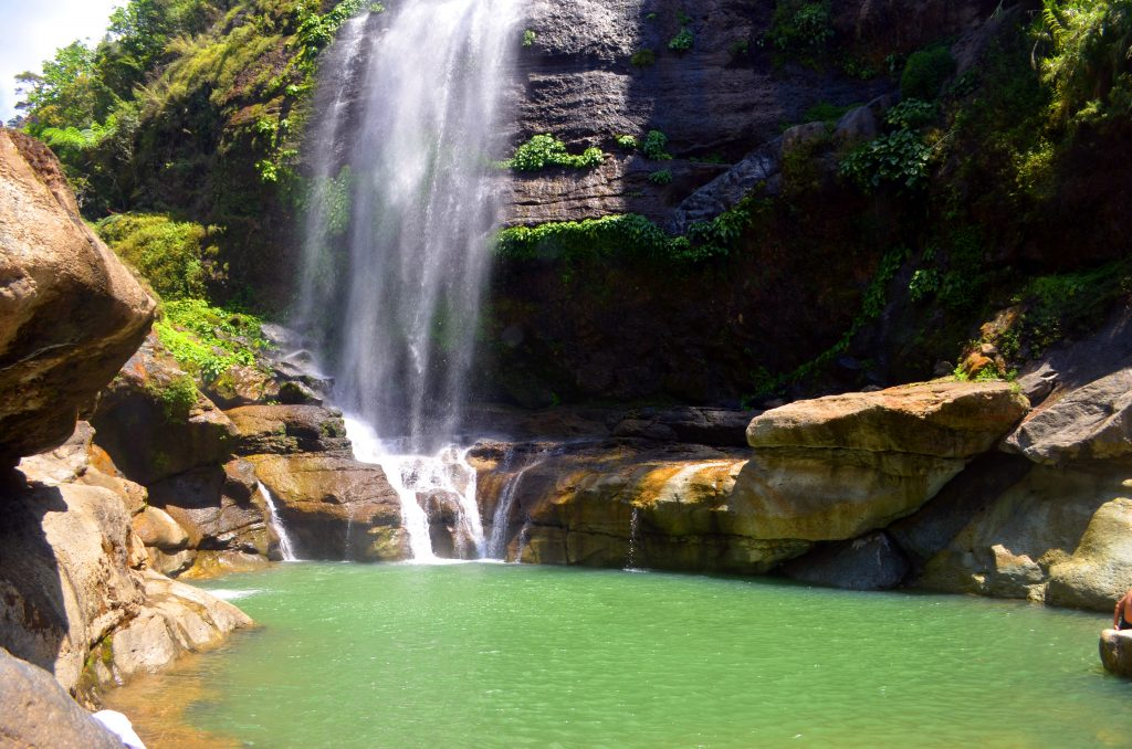Stunning pool of Bomod-ok Falls in Sagada.