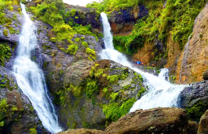 Pongas Twin Falls. One of the tourist spots in Sagada.
