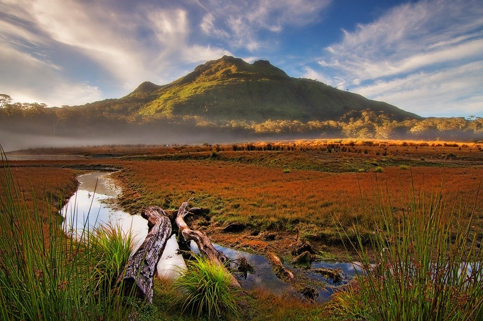 Mt Apo is one of the tourist spots in Davao City.