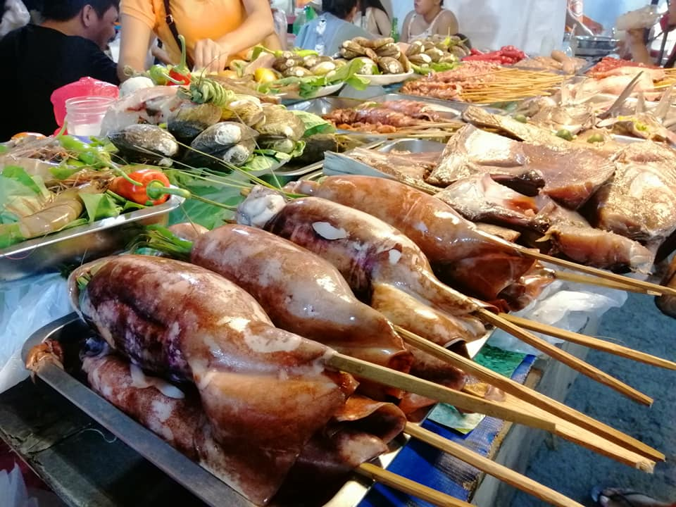 Roxas Night Market. One of the tourist spots in Davao City.