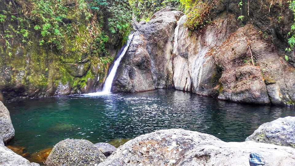 Colorado Falls is one of the tourist spots near Baguio City.