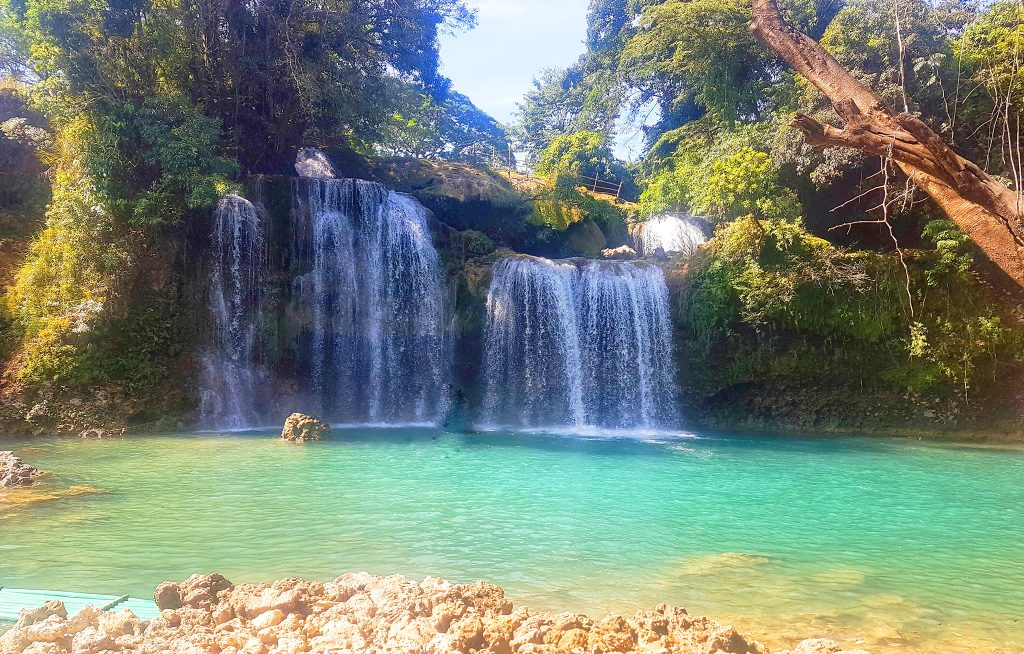 Bolinao Falls is one of the must-see tourist spots in Northern Luzon.