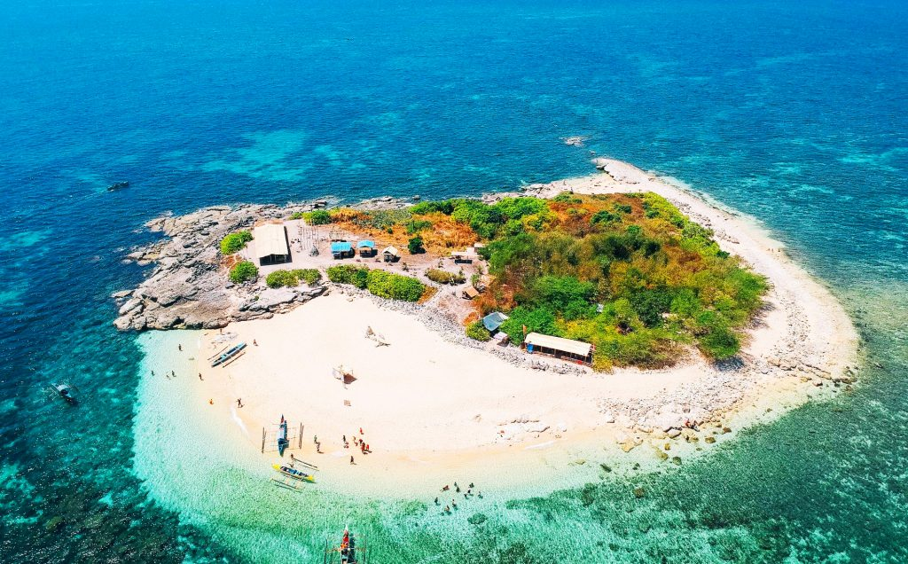 Colibra Island is one of the tourist spots in Pangasinan.