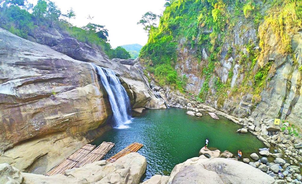 Tangadan Falls is one of the tourist spots in La Union.