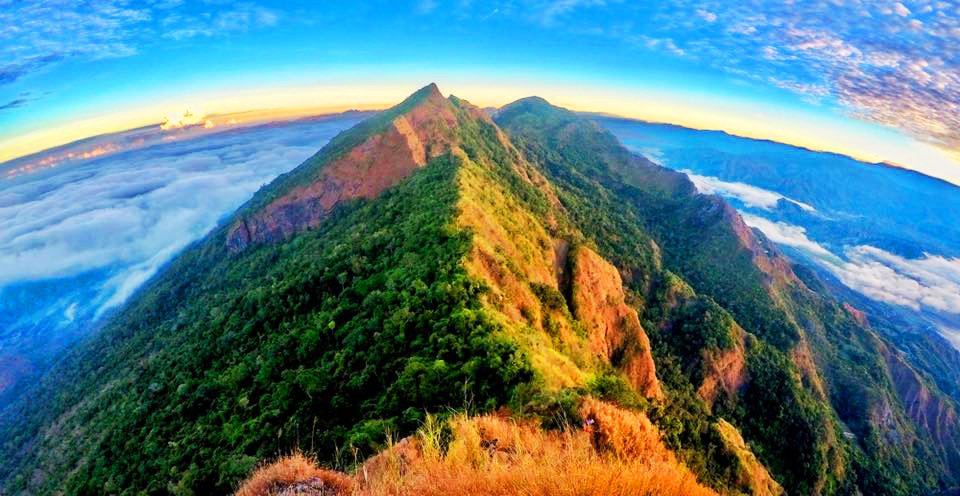 Tirad Peak is one of the must-see tourist spots in Ilocos Sur.