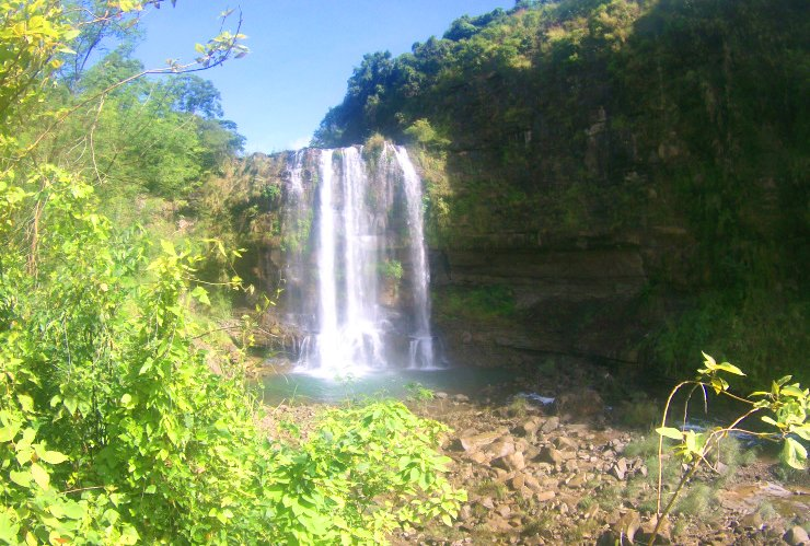 Dawara falls is one of the must-see tourist spots in Ilocos Sur.
