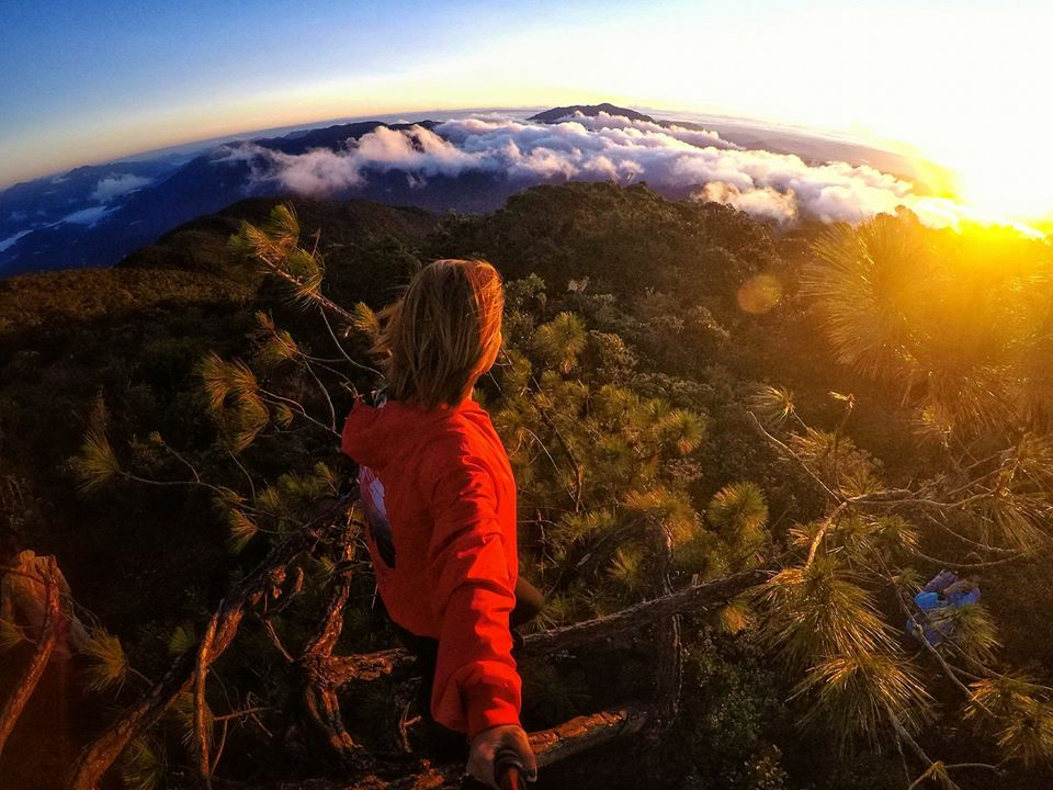 Sunrise View from Mt Kalawitan./