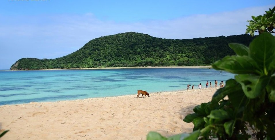 Anguib Beach is one of the tourist spots in Cagayan province.