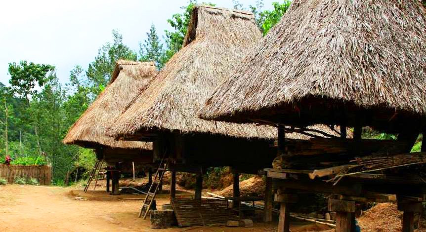 Tam-an Village is one of the tourist spots in Banaue.