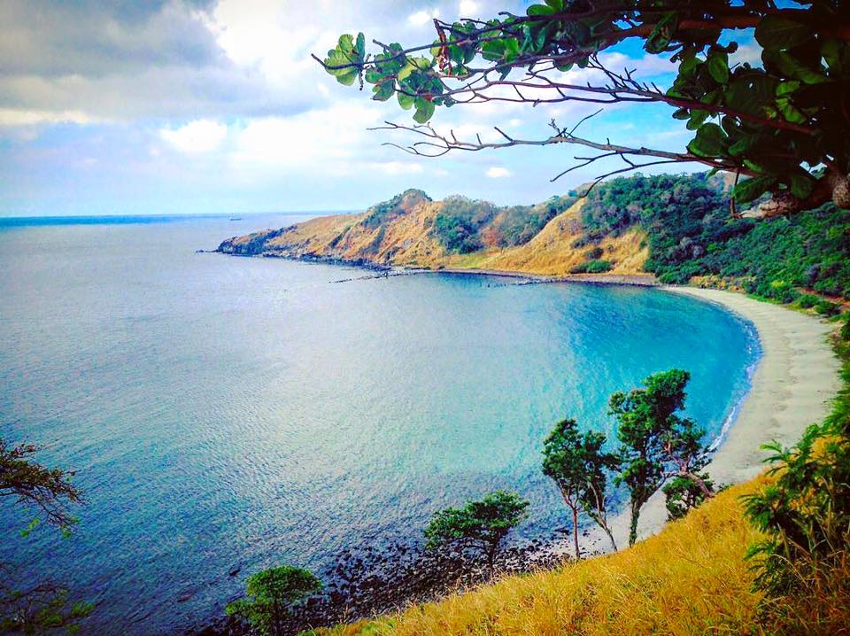 Five Fingers Cove is one of the tourist spots in Bataan