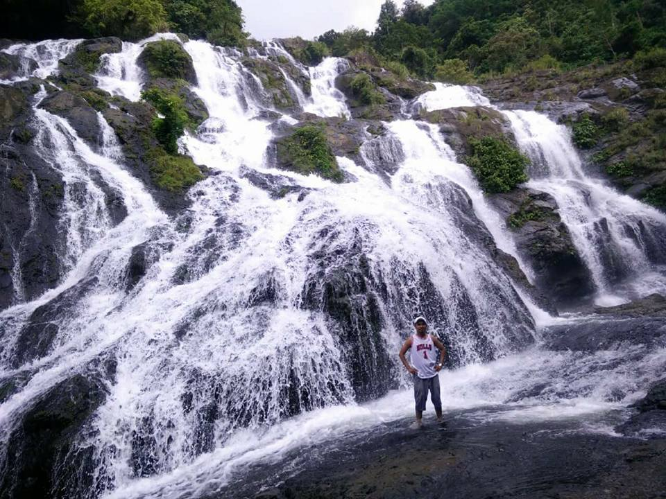 Tarangban Falls is one of the tourist spots in Samar Island.