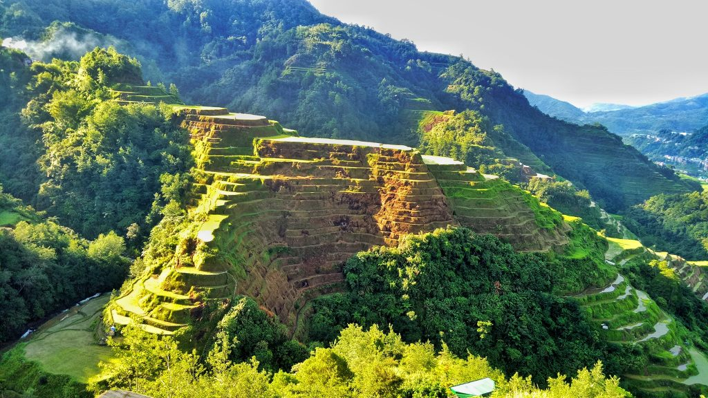 Banaue Rice Terraces is one of the tourist spots in Banaue.
