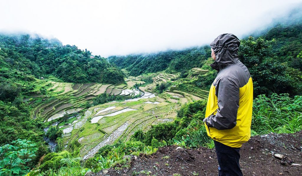 Poitan Rice Terraces is one of the tourist spots in Banaue.