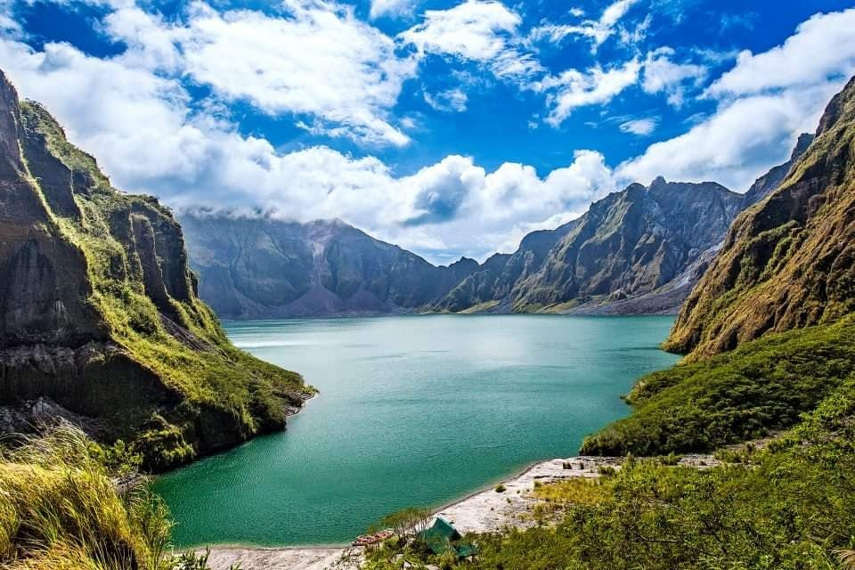 Mt Pinatubo is one of the tourist spots in Zambales