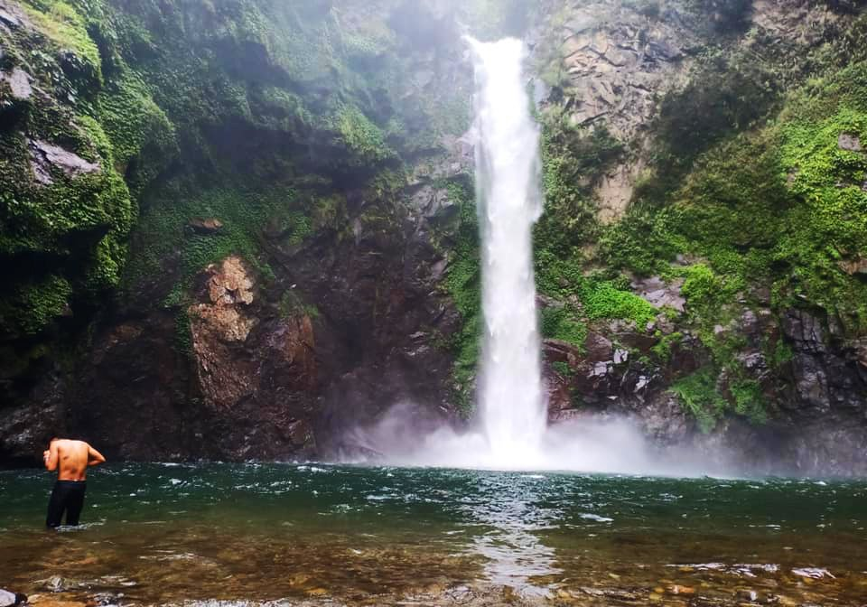 Tappiyah Falls is one of the tourist spots in Banaue.