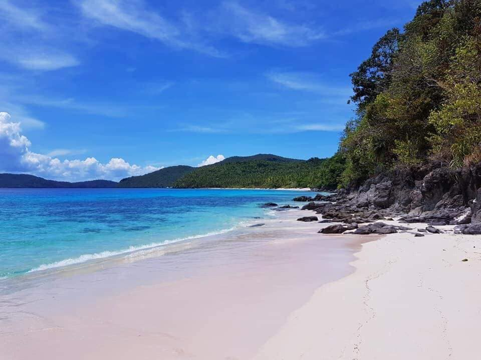 The Pink Beach is one of the tourist spots in Northern Samar.