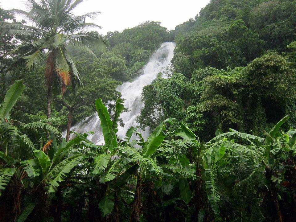 Raki-Dakit falls is one of Northern Samar tourist spots.