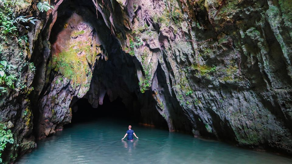 Guinsohotan Cave is one of the tourist spots in Southern Leyte.