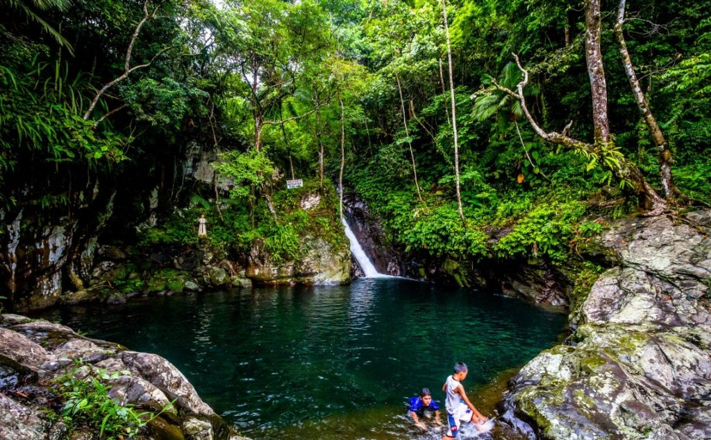 Recoletos Falls is one of the tourist spots in Biliran Island