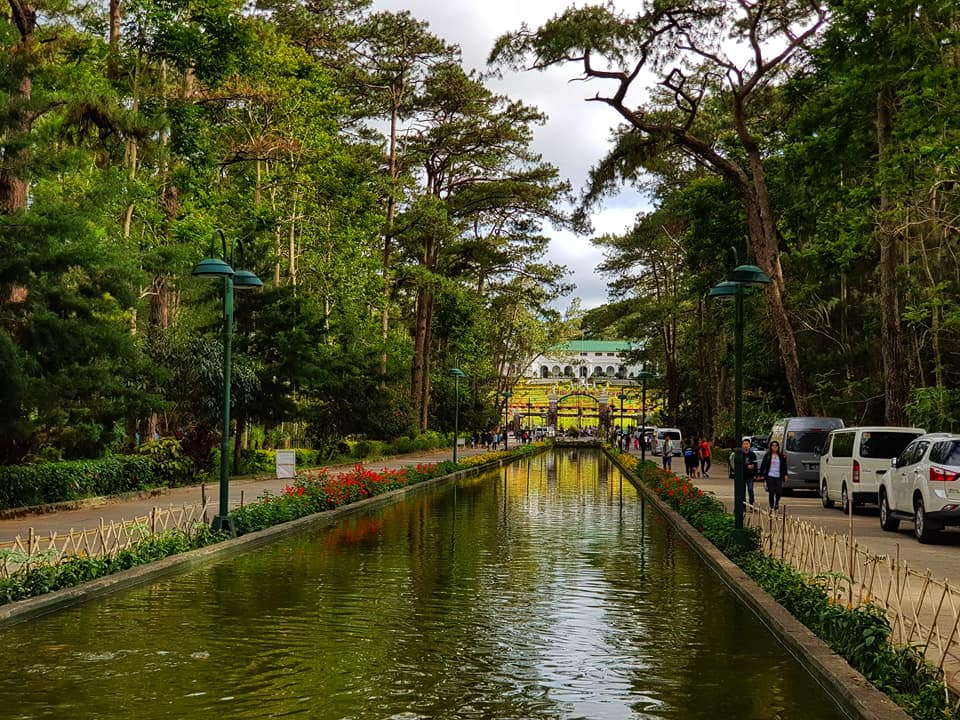 Wrights Park facing The Mansion House Baguio