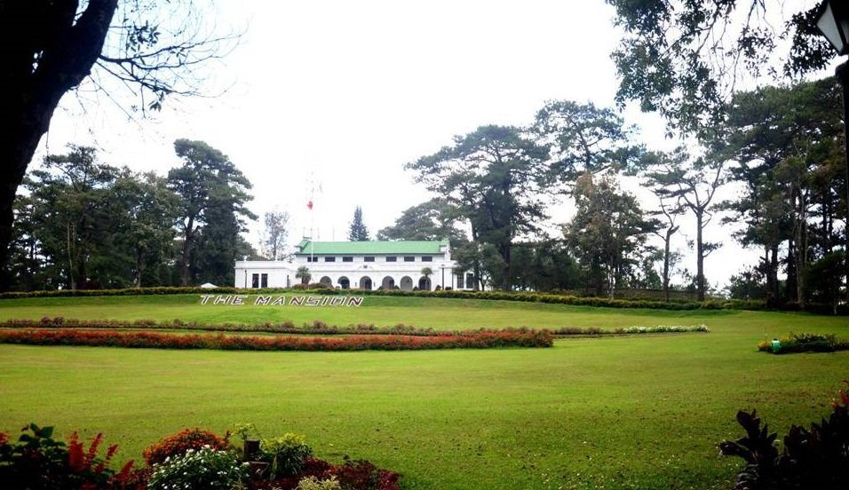 The Mansion can be seen from Wright Park Baguio City