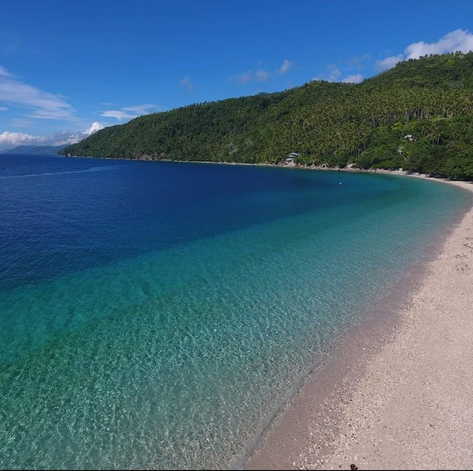 Canibad Beach is one of Davao Del Norte tourist spots