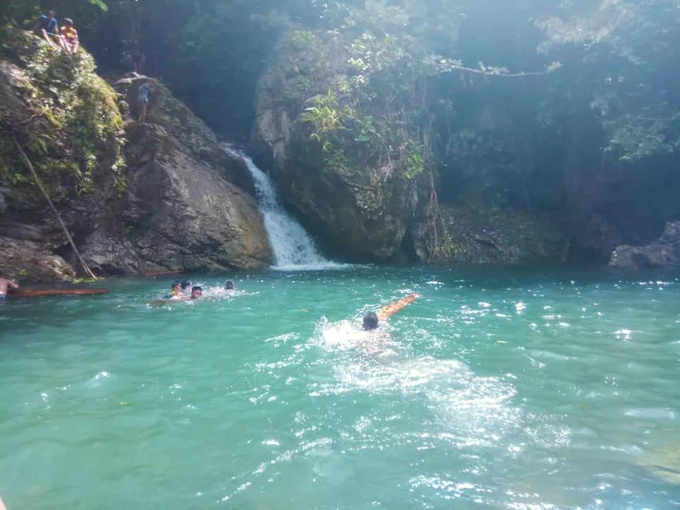 Puyawon Falls is one of the tourist spots in Surigao Del Norte