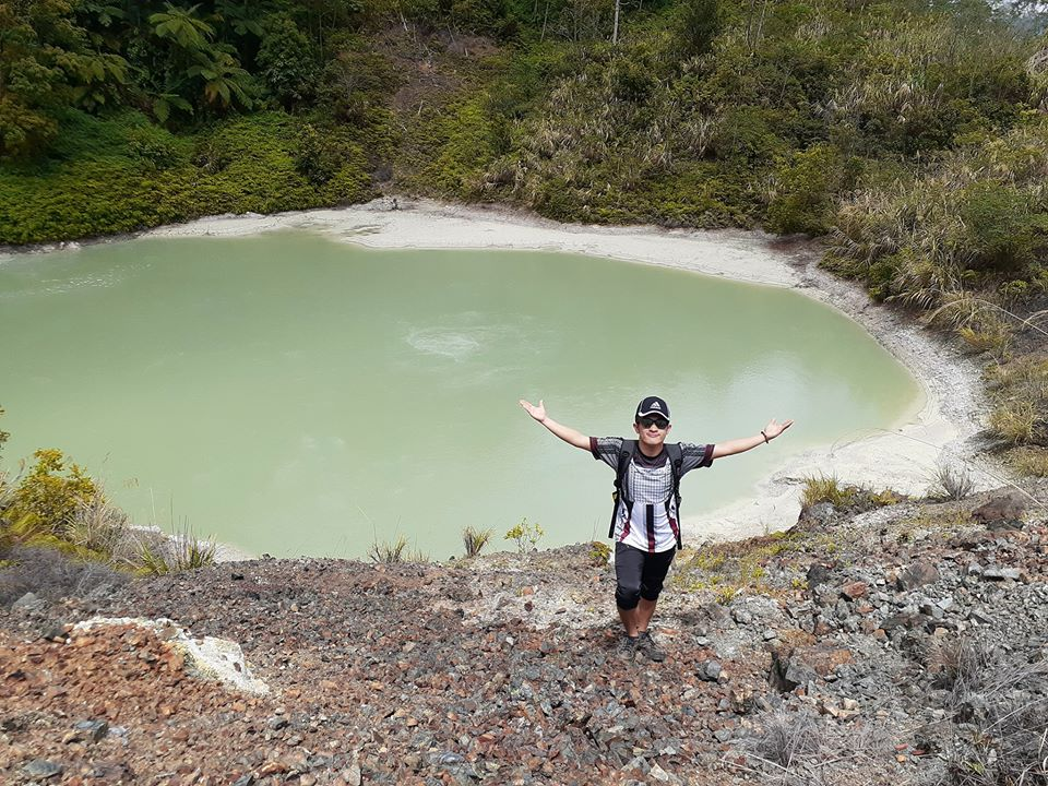 Amacan Crater is one of Davao De Oro tourist spots