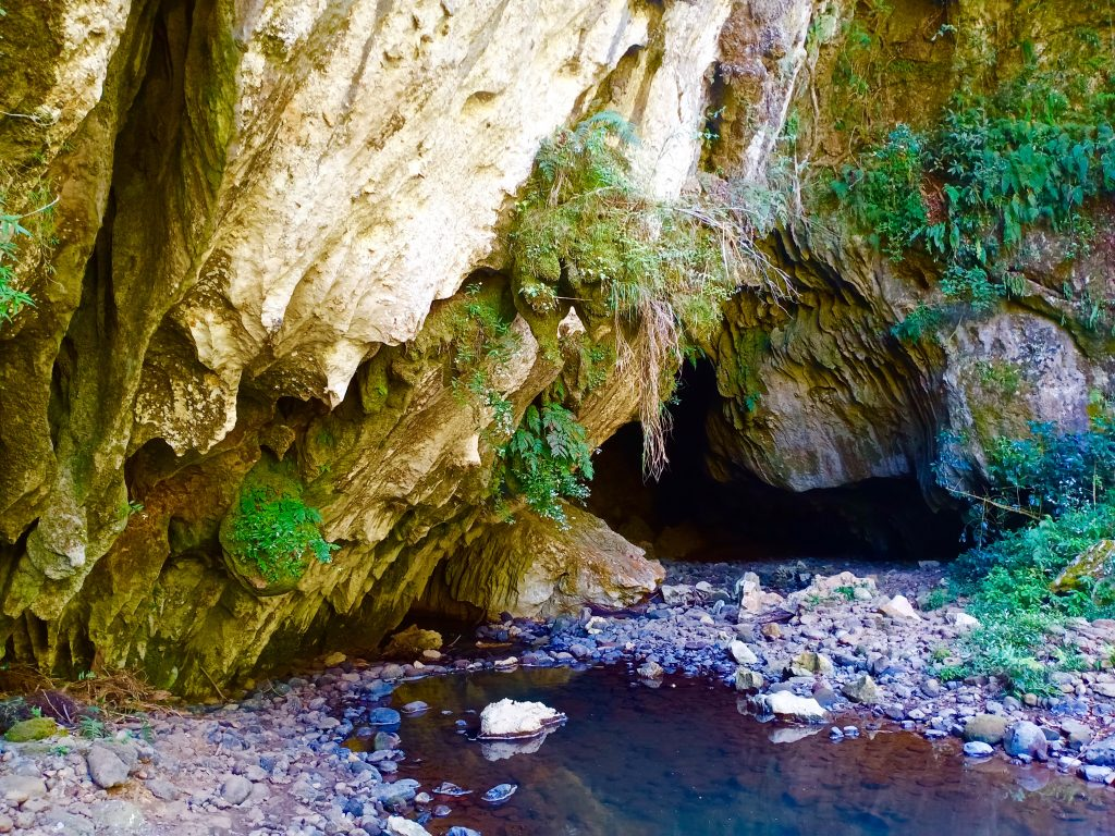 Behold the main entrance of Sagada Underground River