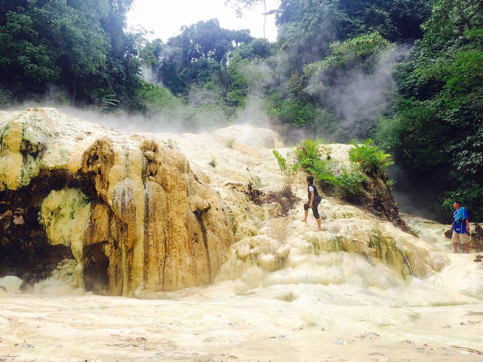 Mainit Sulfuric Hot Spring is one of Davao De Oro tourist spots