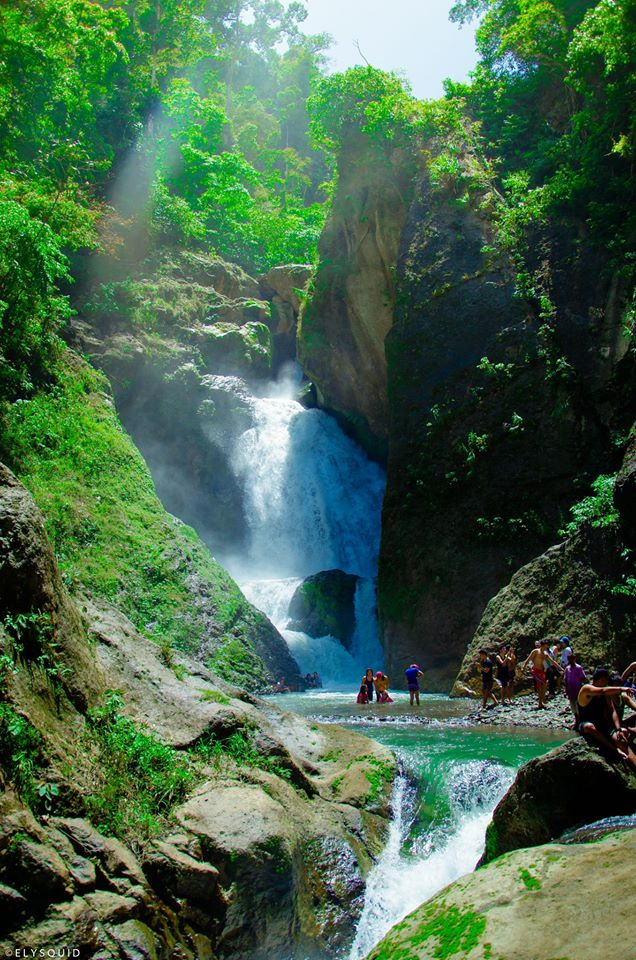 Sayahan Falls is one of the most pristine of Leyte tourist spots.