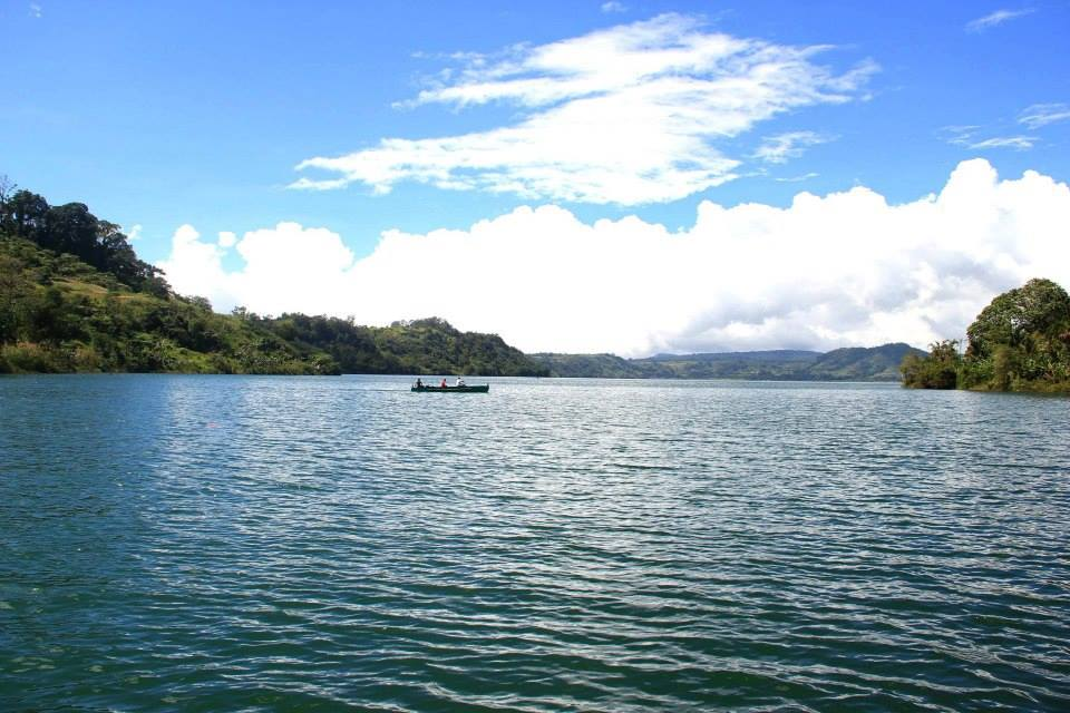 Lake Dapao Natural Park is one of the biggest lakes in the Philippines